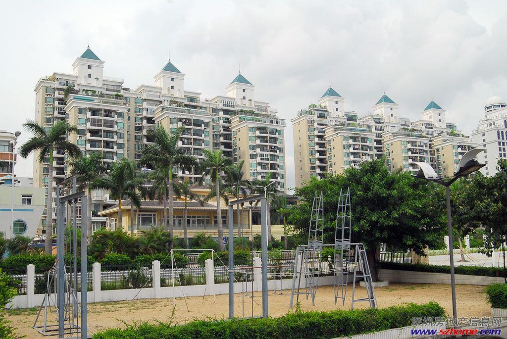 蛇口蓝漪花园南向 精装四房 满五年 近地铁近深圳湾公园!