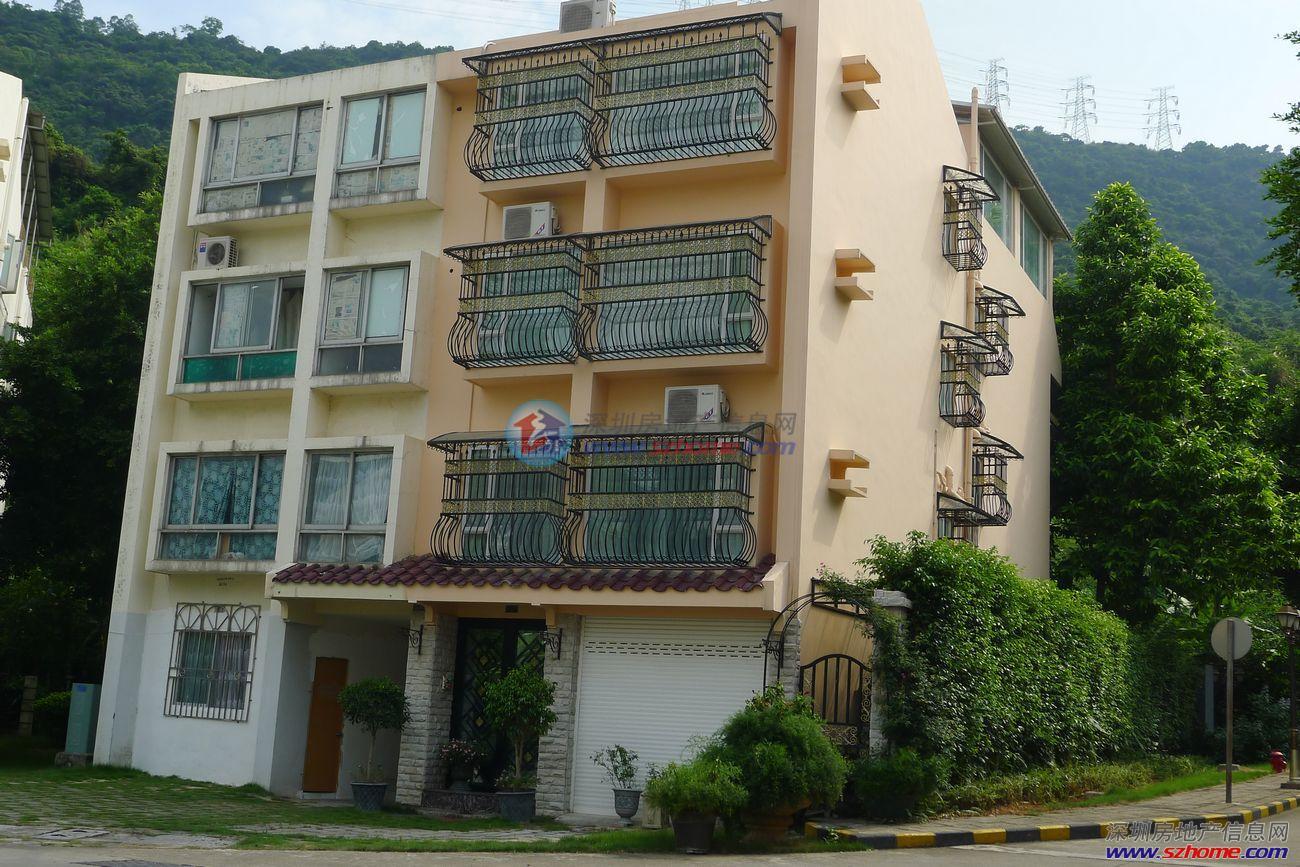 南山最便宜的独栋别墅 上下5层 带车库 带私家花园