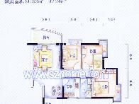 丽晶国际B区户型图