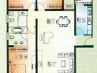 中海塞纳时光户型图